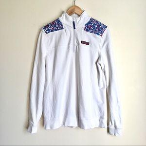 Vineyard Vines Shep Shirt white patriotic stars
